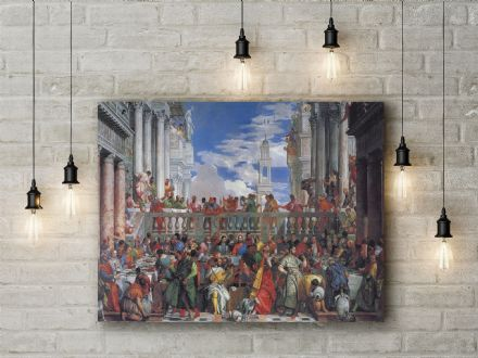Veronese: The Marriage Feast at Cana. Fine Art Canvas.